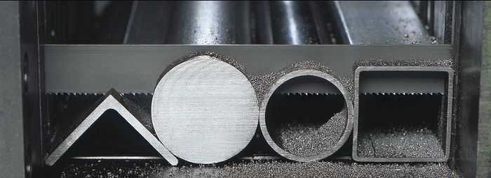Ленточнопильная резка металла